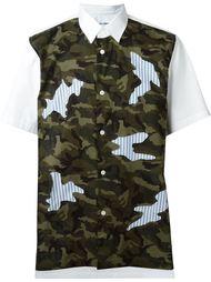 рубашка с камуфляжным принтом  Comme Des Garçons Shirt