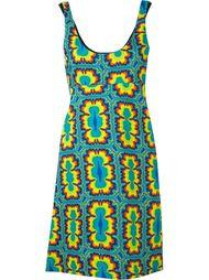 платье-шифт с принтом тай-дай Jeremy Scott