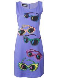 приталенное платье с принтом  Jeremy Scott