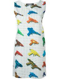 платье с принтом Jeremy Scott