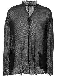 перфорированная куртка  Salvatore Santoro