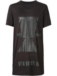 удлиненная футболка с графическим принтом Julius
