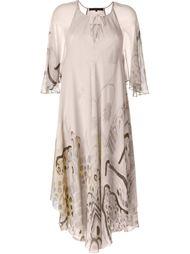 платье с абстрактным принтом Barbara Bui