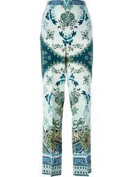 брюки с принтом Etro