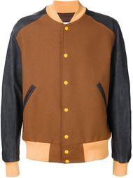 куртка-бомбер дизайна колор-блок Maison Margiela