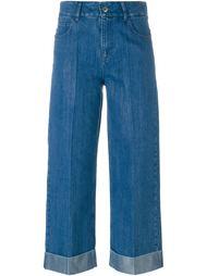 широкие укороченные джинсы  Each X Other