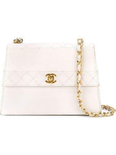 стеганая сумка с откидным клапаном Chanel Vintage