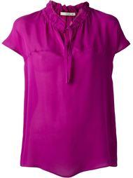 блузка с воротником-стойкой  Etro