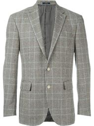 пиджак в ломаную клетку Polo Ralph Lauren