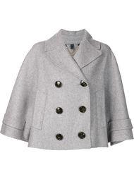 укороченный пиджак с широкими рукавами Burberry Prorsum