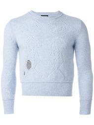 укороченный свитер Raf Simons