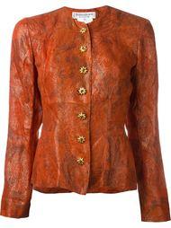 пиджак из люрекса на пуговицах  Yves Saint Laurent Vintage