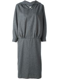 """трикотажное платье с вырезом """"замочная скважина"""" Comme Des Garçons Vintage"""