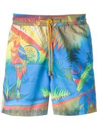 плавательные шорты с принтом джунглей Etro