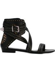 сандалии с перфорированным дизайном  Barbara Bui