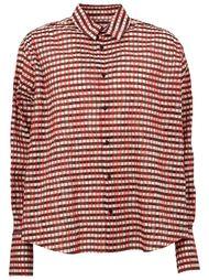 рубашка с принтом Aganovich