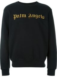 толстовка с вышивкой логотипа Palm Angels