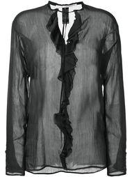блузка с оборками  Isabel Benenato