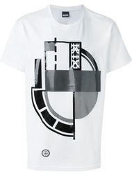 футболка с геометрическим принтом KTZ