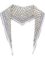 шарф с сетчатым принтом Haider Ackermann