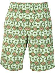 плавательные шорты с геометрическим принтом Givenchy