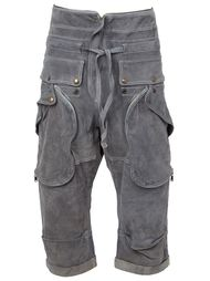 укороченные замшевые брюки Faith Connexion