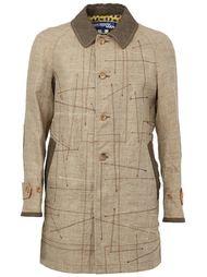 пальто с простроченными деталями Junya Watanabe Comme Des Garçons Man