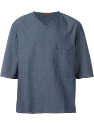 джинсовая футболка  Barena