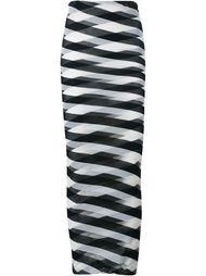 длинная юбка в полоску Stella McCartney
