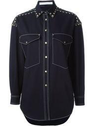 джинсовая рубашка  Francesco Scognamiglio