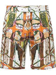шорты с принтом Gosha Rubchinskiy