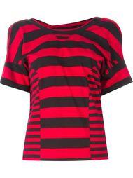полосатая футболка с капюшоном Y-3