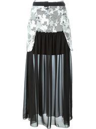 юбка макси с панельным дизайном  I'M Isola Marras