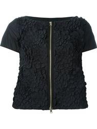 пиджак с цветочной аппликацией Herno