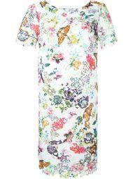 платье с цветочной вышивкой  I'M Isola Marras