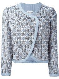 пиджак букле с запахом Armani Collezioni
