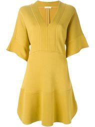 платье c V-образным вырезом   Chloé