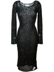 платье с рваными деталями  Maison Margiela