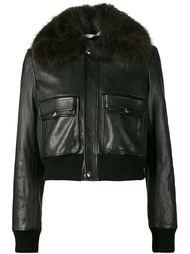 укороченная куртка-бомбер Givenchy