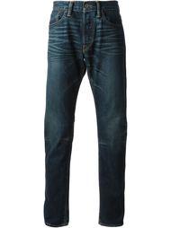 джинсы с выцветшим эффектом Simon Miller