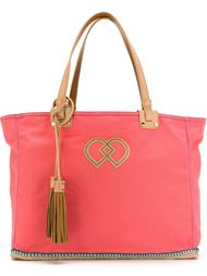 сумка-тоут с кожаными кисточками Dsquared2