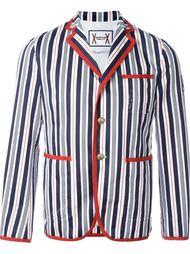 полосатый пиджак Moncler Gamme Bleu