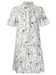 платье с цветочным принтом   Jason Wu