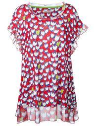 блузка с цветочным принтом  Tsumori Chisato