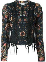 пиджак с корсетной шнуровкой Christian Dior Vintage