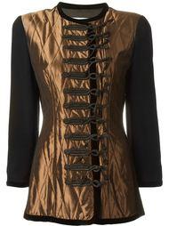 пиджак со стегаными панелями Christian Dior Vintage