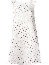 платье А-образного силуэта в горох Delpozo