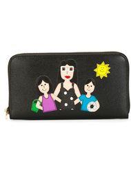 кошелек с заплаткой в виде семьи Dolce & Gabbana