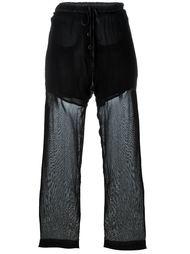 прозрачные свободные брюки Lost & Found Ria Dunn