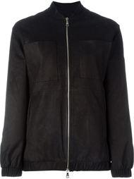 кожаная куртка-бомбер Giorgio Brato
